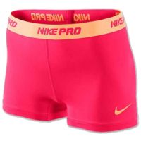 Cheer Shorts Nike Pro Yellow Pink