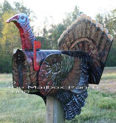 Turkey mailbox..