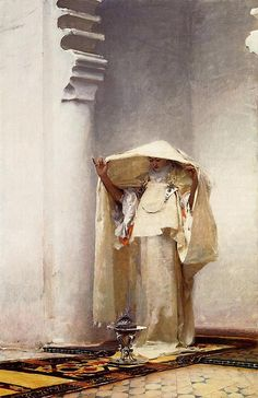 John Singer Sargent, Fumée d'Ambre Gris , 1880 x in. John SInger Sargent was a major American artist, often co. Art And Illustration, Illustrations, Figurative Kunst, Clark Art, Guache, Inspiration Art, Wow Art, Oil Painting Reproductions, Oeuvre D'art
