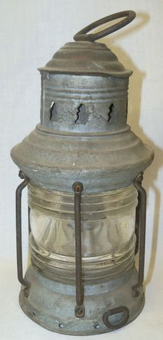 Antique Nautical Ship Lantern