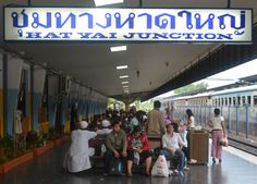 Hat Yai Junction, Hat Yai Railway Station Songkhla Southern Thailand. Check our blog for Singapore to Bangkok Overland and Island Hopping and Travel in Southeast Asia. http://live-less-ordinary.com/southeast-asia-travel/singapore-to-bangkok-overland-island-hopping