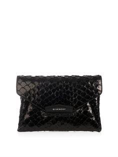 Antigona fish-skin envelope clutch | Givenchy