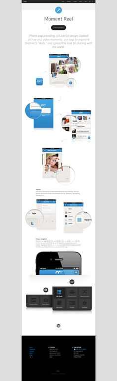 Studio MDS Interface #web #design #interface #showcase #mockups