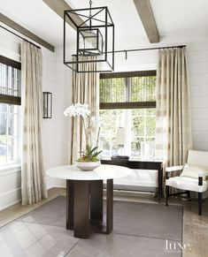 Transitional Hinsdale Abode with Neutral Interior Palette   LuxeDaily - Design Insight from the Editors of Luxe Interiors + Design