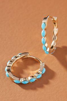 Gold bar earrings studs, Hammered hoop earrings, Hoop earrings, Womens fashion jewelry, Minimalist jewelry, Bar stud earrings - Brass, glass Imported - #Goldbar #earringsstuds