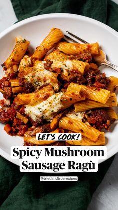 Casserole Recipes, Crockpot Recipes, Chicken Recipes, Cooking Recipes, Healthy Recipes, Spicy Food Recipes, Pasta Recipes For Dinner, Simple Food Recipes, Healthy Delicious Recipes