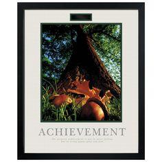 Achievement Oak Motivational Poster