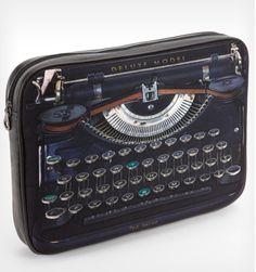 Ted Baker laptop sleeve that looks like a vintage typewriter.