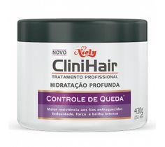 Creme de Hidratação Profunda CliniHair Controle de Queda 430g - Controle de Queda. Hidratação.