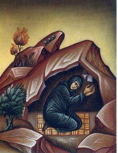 Today we celebrate the Venerable Amma Syncletica of Alexandria. Amma (Mother) Syncletica is probably the most well-know Desert Mother of all. Her sayings and spiritual counsels have made it into many. Byzantine Art, Byzantine Icons, Religious Icons, Religious Art, Giving Thanks To God, City Folk, Religious Paintings, The Monks, Orthodox Icons