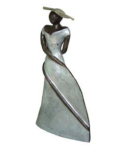 Billedresultat for keramiek beelden Art Sculpture, Bronze Sculpture, Statues, Pottery Designs, Pottery Ideas, Raku Pottery, Ceramic Techniques, Ceramic Art, Decorative Bells