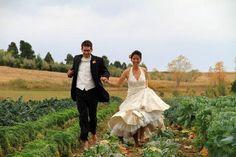 Runaway bride...and groom