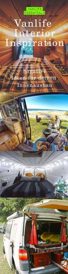 Das Frühjahr steht vor der Tür und damit die Bulli- und Roadtripzeit. Ihr wollt Euch dieses Jahr einen Van ausbauen oder sucht noch Inspirationen für Euren Bus? Wir haben für Euch ein bisschen Inspiration gesammelt