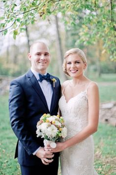 Tennessee Backyard Wedding from Leslee Mitchell Sweet Magnolia, Wedding Bouquets, Wedding Dresses, Our Wedding, Style Me, Floral Design, Wedding Photos, Backyard, Celebrities