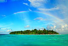 Spectacular Places: Rainbow Island, Maldives