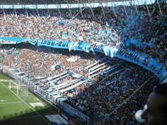 Tribuna popular. Estadio Presidente Perón. Racing Club de Avellaneda