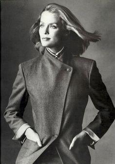 Lauren Hutton for Basile Fall/Winter 1980 by Irving Penn