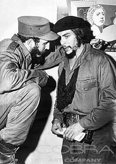 Fidel Castro and Che Guevara, One got beheaded in Bolivia, the other douce still lingers. Fidel Castro and Che Guevara, One got beheaded in Bolivia, the other douce still lingers.