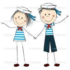 Resultado de imagem para desenhos marinheiros