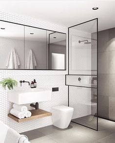 Modern Small Bathroom Design The Basic Components of Modern Bathroom Designs Modern Small Bathroom Design. Incorporating a modern bathroom design will give you a more … Bathroom Toilets, Bathroom Renos, Bathroom Ideas, Bathroom Small, Bathroom Remodeling, Budget Bathroom, Bathroom Furniture, Remodel Bathroom, Remodeling Ideas