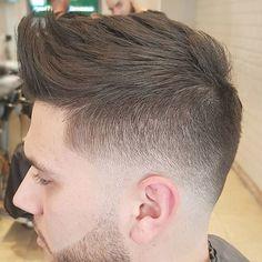 Textured Bro Hawk + Low Bald Fade