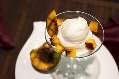 Grilled Peaches and Yagööt yogurt