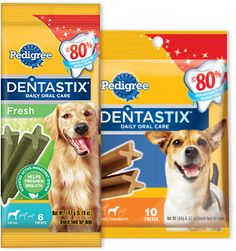 4 FREE Pedigree Dentastix Dog Treats at Target!