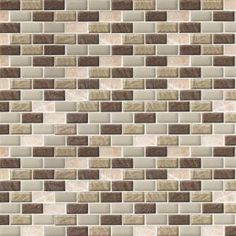 similar to the old kitchen's backsplash: Jeffrey Court Roma Linea 12 in. x 12 in. Tan Block Mosaic Tile, $15.84/sq ft