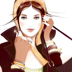 DeviantArt: More Like teen fashion illustration by BreeLeman Fashion Illustration Collage, Woman Illustration, Fashion Illustrations, Fashion Sketches, Art Illustrations, Fashion Artwork, Fashion Prints, Love Fashion, Moda Chic
