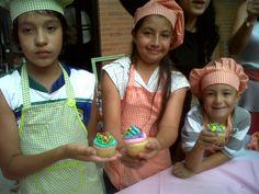 y hoy preparamos cupcakes