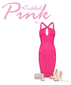 """""""Pink Dress"""" by ksims-1 ❤ liked on Polyvore featuring Posh Girl, Accessorize, Aspinal of London and River Island"""