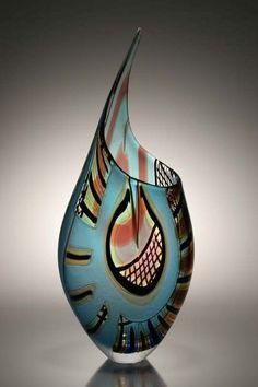 Murano+Art+Glass+Vases+|+afro+celotto+art+|+Murano+Art+Glass+Vase+by+Afro+Celotto
