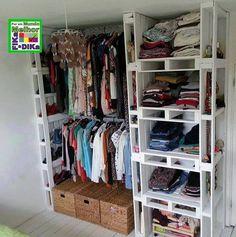 Foto: Um armário feito com paletes. #diy #fikaadika #recycling  Fika a Dika - Por um Mundo Melhor