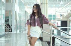 Eu Não tenho Roupa - Primeiro Blog de Moda Curitiba: OOTD kimono + saia branca