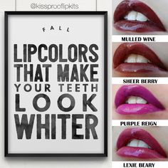 LipSense lipstick to make your teeth look whiter! lipsense, lipstick, white, teeth, fall, fashion, makeup