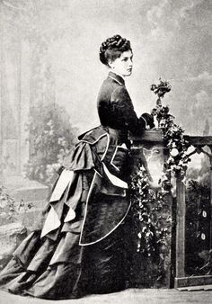 Lady Randolph Churchill, born Jennie Jerome, American heiress who was the mother of Winston Churchill. Reading about her now!