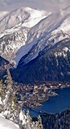 Juneau, Alaska - Home, sweet, other home.