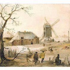 Hendrick Avercamp Biography | HENDRICK AVERCAMP AMSTERDAM 1585 - 1634 KAMPEN