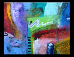 Abstract art by Gino Savarino