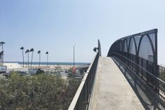 Santa Monica przejście nad drogą PCH