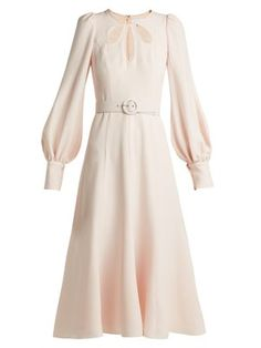 Cut-out crepe midi dress   Andrew Gn   MATCHESFASHION.COM