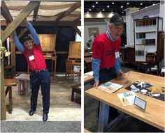 Mack is having a great time out in Pennsylvania, shopping for Made in America furniture to bring home to Gallery Furniture with him! #shopGF | Houston TX | Gallery Furniture |