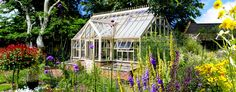Bespoke Victorian Lodge Greenhouse with Coldframes by Hartley Botanic