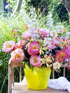 Wunderschöner Pfingstrosenstrauß #twbm #peony #pfingstrose #blumen #flower #bouquet