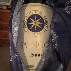 2000 Tenuta San Guido Sassicaia Bolgheri Tuscany Italy.  1948 was a first vintage of Sassicaia at the time produced strictly for family and friends. Commercially unavailable until 1969. If you are Bordeaux lover you will love Sass!  Maturity is apparent lots of spicy earthiness with black cherry and blackcurrant fruit balanced by dry olives and glaze orange peel. Palate is dry and round pretty much at its peak.  #TenutaSanGuido #Sassicaia #Sass #SassicaiaBolgheri #Supertuscan #Tuscany…
