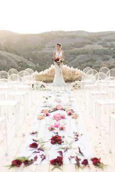 Luxe Bohemian Wedding In Jewel Tones
