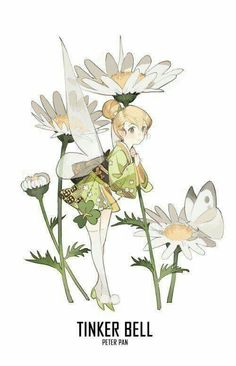 Tinker Bell- Japanese Syle (8)
