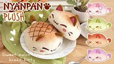 Melon Bread, Kawaii Plush, Mochi, Cute Pictures, Bunny, Super Cute, Minimalist, Kitty, Animal