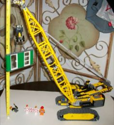 Lego crawler crane construction set boys toy craft set city town