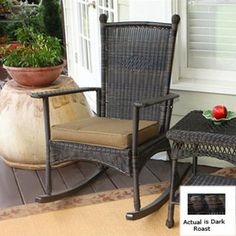 Tortuga Outdoor Patio Rocking Chair